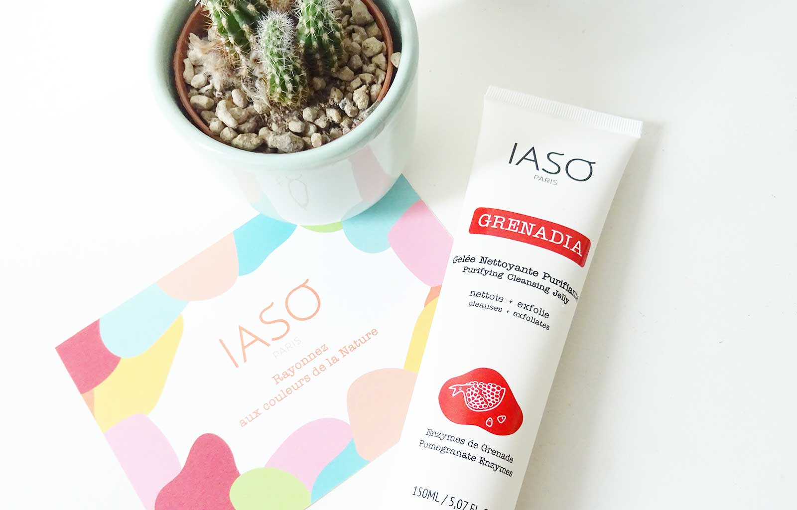 """Easy Detox"" IASO Paris gelée nettoyante"