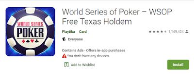 Game Poker Android Paling Terkenal