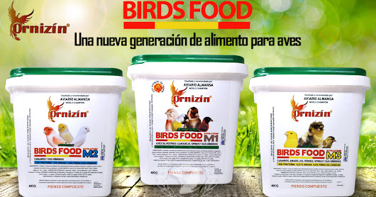 ORNIZIN Piensos Birds Food M1 M2 M3