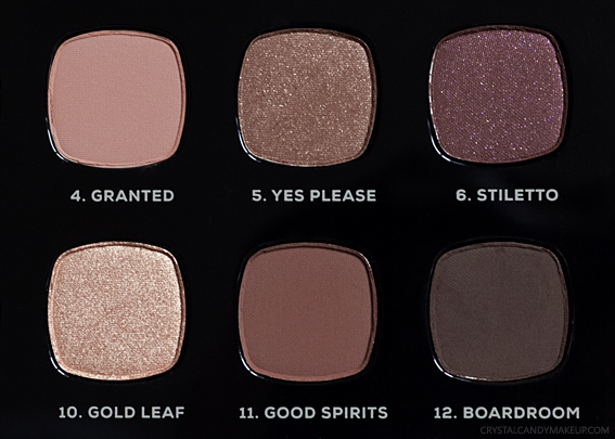 BareMinerals The Wish List Palette Review