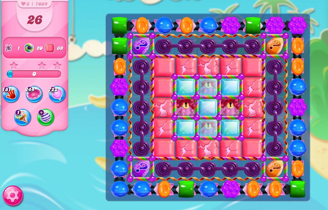 Candy Crush Saga level 7069