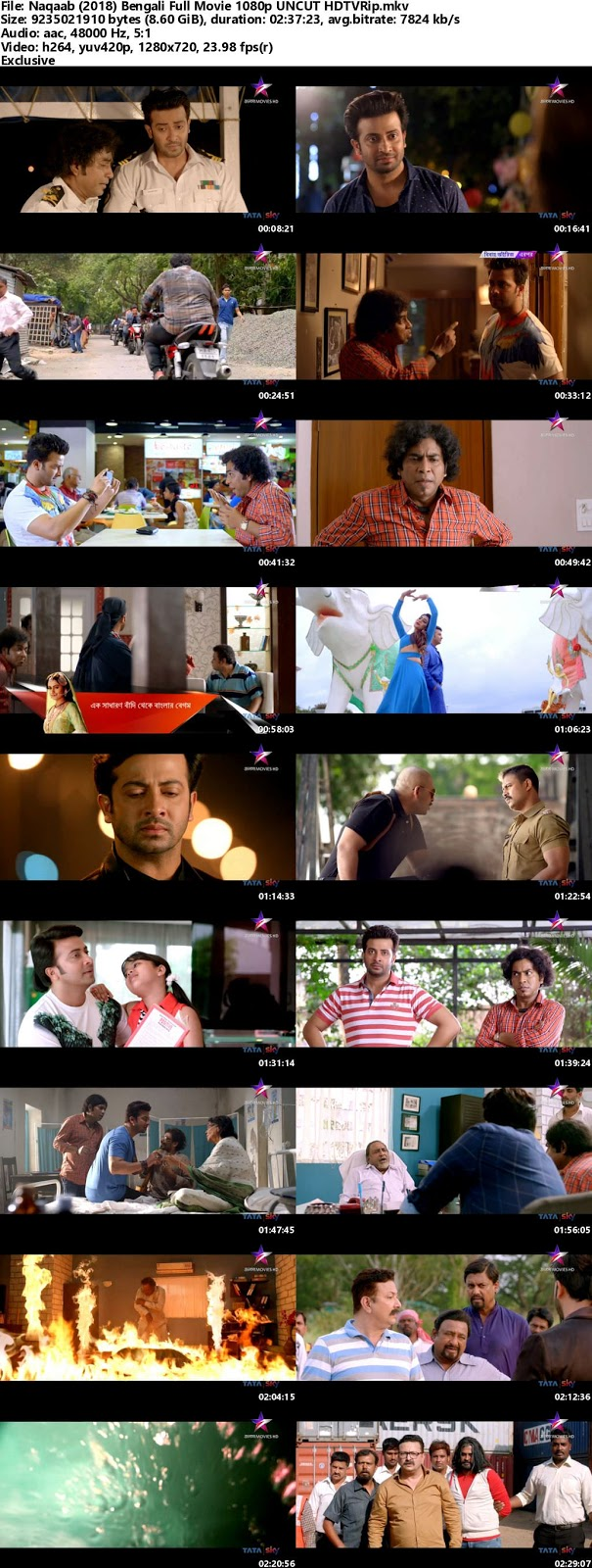 Naqaab (2018 ) Bangla Full Movie Download In 720p HD