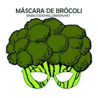 máscaras de Brócoli