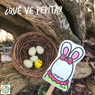 Photo Prompt for Distance Learning Pepita Nest
