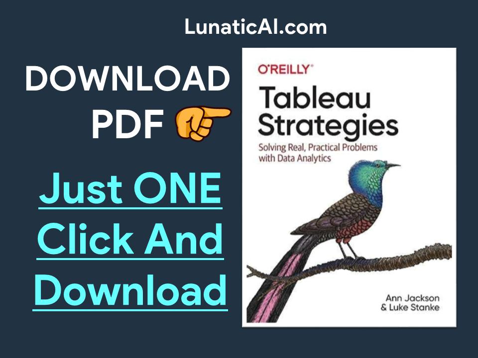 Tableau Strategies PDF