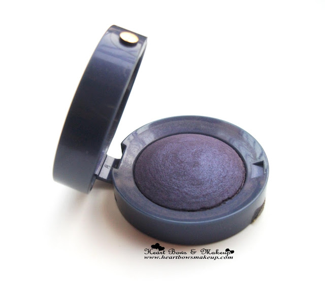 Bourjois Ombre à paupières Eye Shadow 12 Bleu Magnetique Review swatches price india buy online