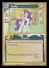 My Little Pony Rarity GenCon CCG Card