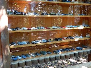 Parco Gallorose(ガッロロゼ公園)ミニカーの展示
