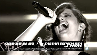 Esperanza canta Every Breath You Take de The Police-la voz