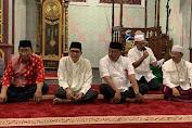 Gubernur Olly Bukber di Masjid Agung Pangeran Diponegoro Airmadidi