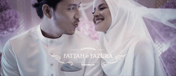 Disebalik Lagu Romantik Video Pernikahan FattZura