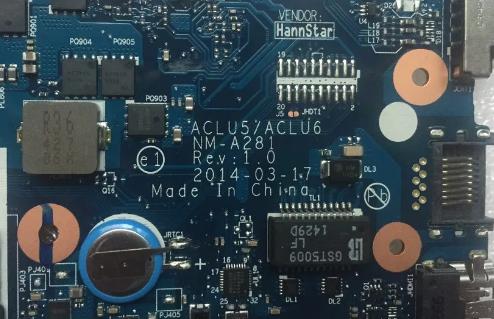 NM-A281 ACLU5 ACLU6 REV 1.0 LENOVO G40-45 Laptop Bios