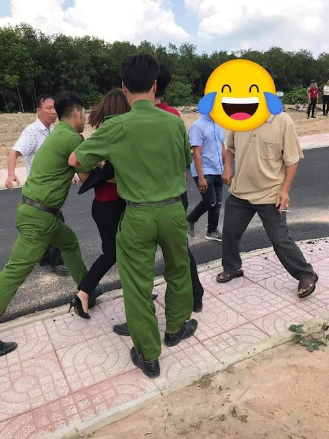 """Tạm giữ 10 kẻ gây rối tại """"dự án ma"""" ở Bà Rịa - Vũng Tàu"""