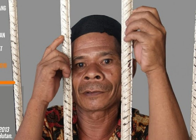 Sedih! Gara-gara Mau Tanam Ubi di Tanah Leluhurnya, Pak Bongku Dipenjara