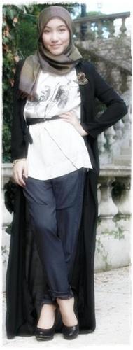 Model busana muslim untuk remaja trendy tahun 2014