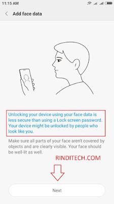 Cara Menggunakan Face ID Recognition di HP Xiaomi (Unlock smartphone dengan Wajah)