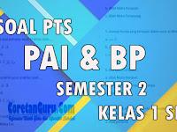 Soal UTS/PTS PAI Kelas 1 SD Semester 2 Kurikulum 2013