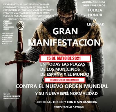 GRAN MANIFESTACION 15 DE MAYO DE 2021 POR LA LIBERTAD