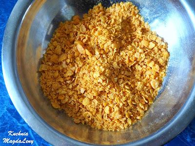 Kotleciki mielone w płatkach kukurydzianych