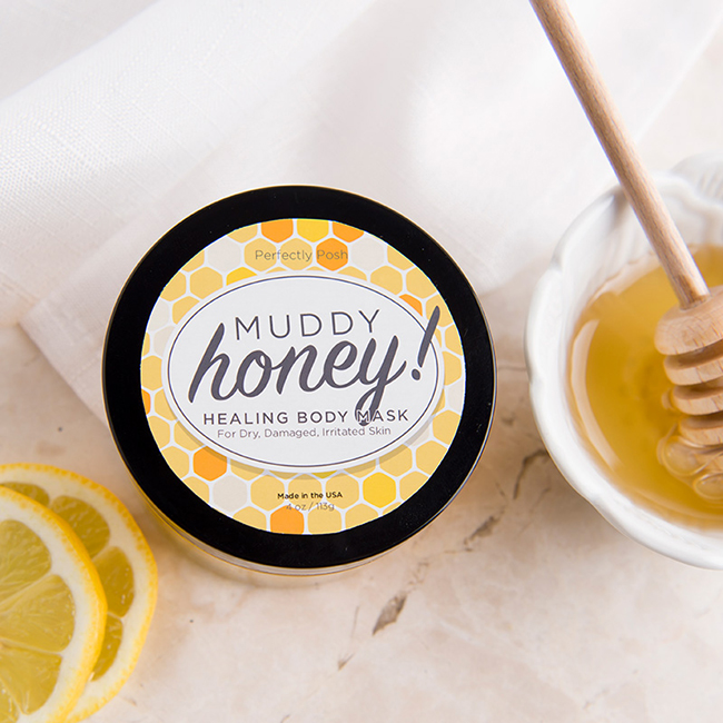 Perfectly Posh Review & Giveaway - Muddy Honey! Healing Body Mask