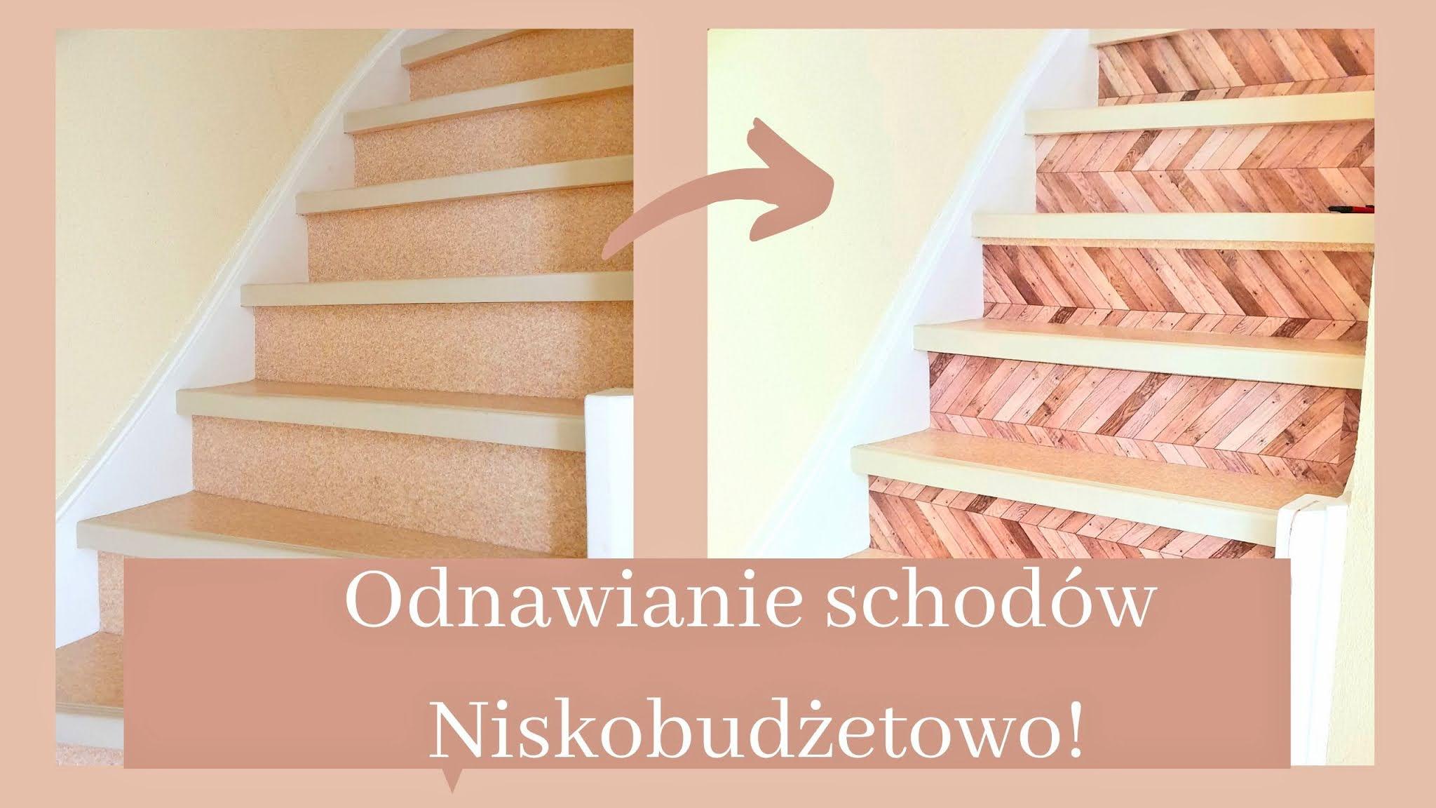 jak tanio odnowic schody