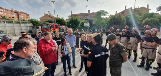 Puig anuncia que el pleno del Consell aprobará el viernes un decreto de ayudas por las lluvias y pide un 'Plan Marshall' para la Vega Baja