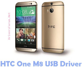 HTC One M8 USB Driver Free Download for Windows
