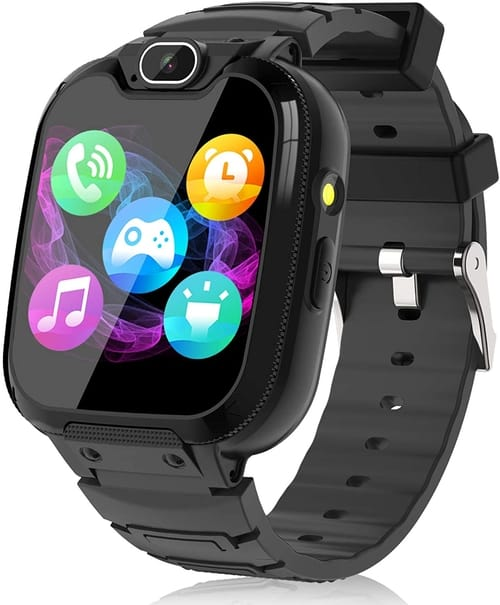 BAUISAN Kids Smartwatch with Call SOS 14 Games Camera