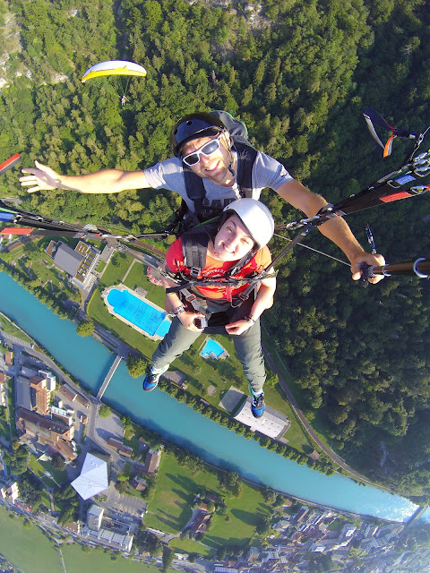 Paraglide, switzerland, interlaken, Best GoPro Accessories for travel & Adventure, which GoPro accesories, go pro, case, mount, GoPro hero 4 silver, 4k, strap, leash, clips, replacement, backdoor, protective cover, bag, wrist, head, chest, floatation, floaty back door, floating handle, sticky mounts, helmet mount, selfie stick, tripod, batteries, memory cards, water droplets on gopro screen, lens,