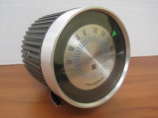 Vintage Mid Century Modern Panasonic R12 Speedometer The Spinet Transistor Radio