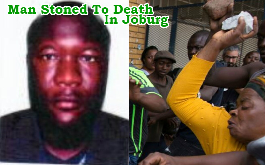 nigerian stoned to death south africa