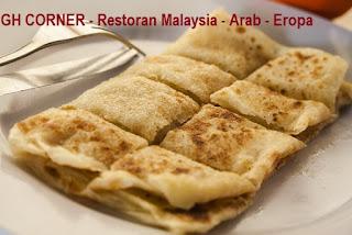 Roti Canai Malaysia Di Surabaya Restoran Halal Gh Corner Surabaya