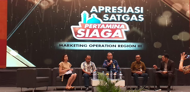 Talkshow Apresiasi Satgas Pertamina Siaga MOR III, spbu curang, isi bensin, premium abis, agen pertamini, agen bola
