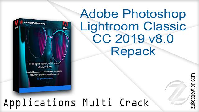 Adobe Photoshop Lightroom Classic CC 2019 v8.0 Repack
