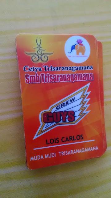 Id Card Smb Trisaranagamana