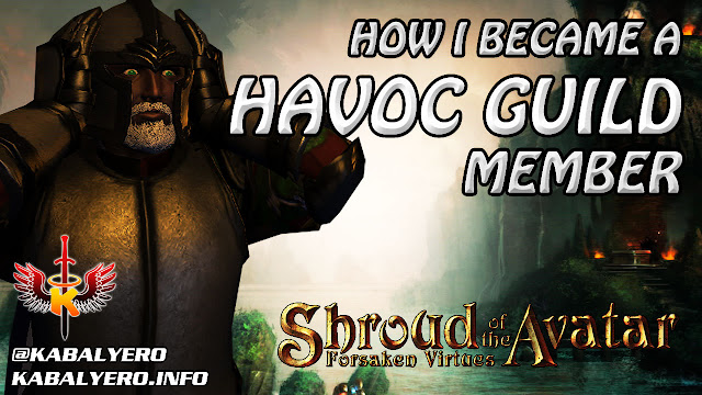How I Became A Havoc Guild Member In Shroud Of The Avatar