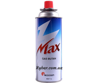 """Газ для портативних газових приладів """"MAXSUN"""" (синій)"""