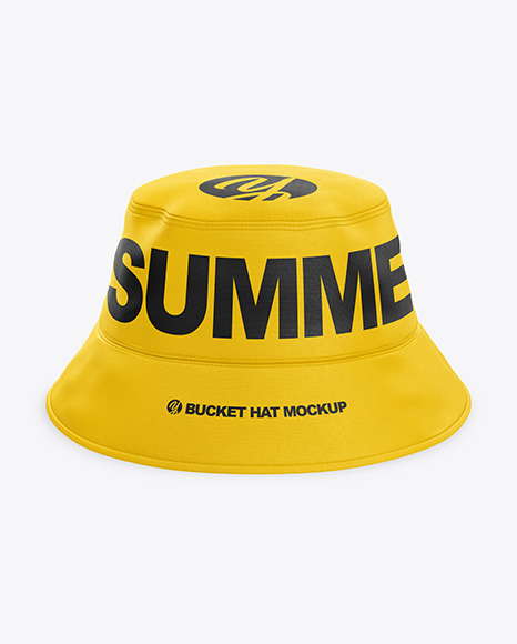 Bucket Hat Mockup   PSD Mockup