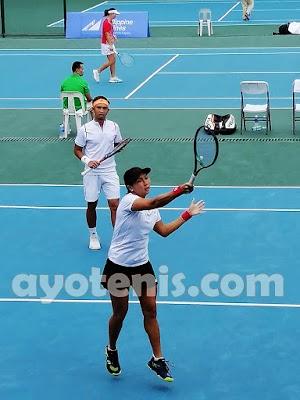 Tenis SEA Games: Menang Dramatis, Dila/Christo Persembahkan Medali bagi Indonesia