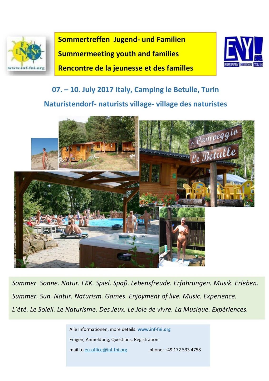 Encontro INF /FNI de Verão para Jovens e Famílias
