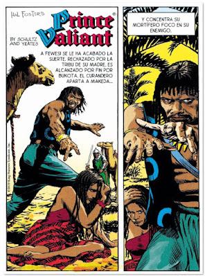 Prince Valiant de Mark Schultz y Yeates, edita Dolmen