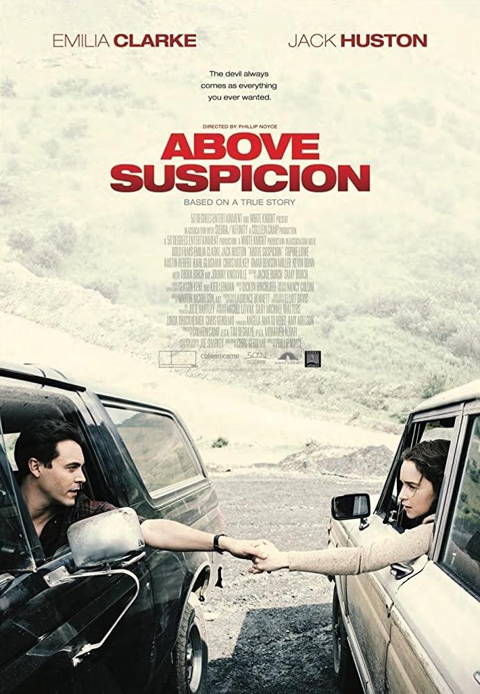 emilia clarke above suspicion poster