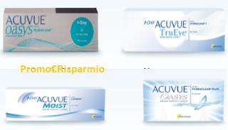 Logo Acuvue: ricevi un campione omaggio delle lenti a contatto