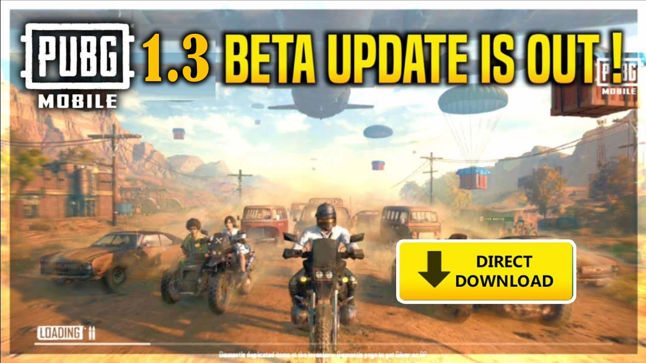 PUBG Mobile 1.3 Beta Version is Finally Released