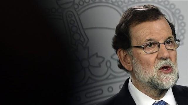 Spanish Prime Minister Mariano Rajoy dismisses Catalan government, parliament