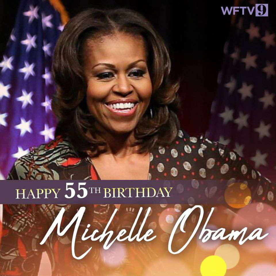 Michelle Obama's Birthday Wishes Lovely Pics