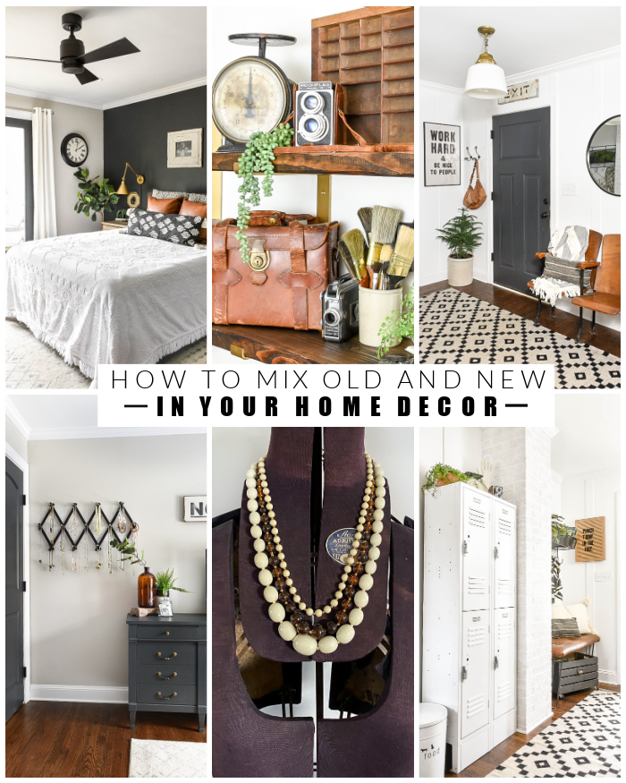 How to mix old and new in your home decor