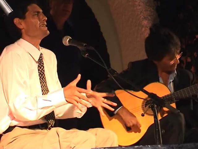 Antonio Agujeta acompañado por Alberto San Miguel