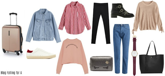 WHAT TO PACK FOR A WEEKEND TRIP Blog Falling for A