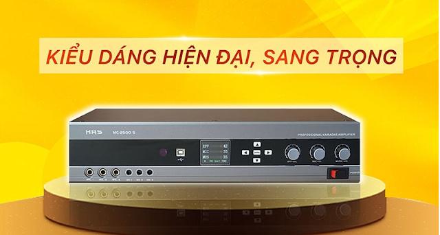Amply karaoke số HAS MC 2500S